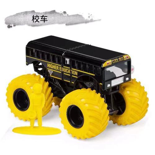 1: 64 оригинальные горячие колеса гигантские колеса Crazy Barbarism Монстр металлическая модель грузовика игрушки Hotwheels большая ножная машина детский подарок на день рождения - Цвет: d