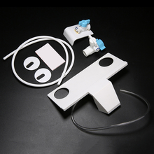Mayitr Non-Electric Bathroom Toilet Bidet Water Spray Seat Practical Toilet Sprayer Nozzle Attachment Hand Operation Bidet Parts non electric bidet toilet attachment fresh water mechanical sprayer ass washer implement simple clean body irrigador orr