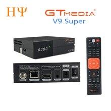 GTmedia V9 Super DVB S2 Satellite receiver Support H.265 same gtmedia v8 nova freesat v8 super built WiFi set top box