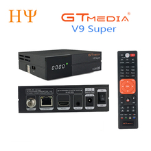 GTmedia V9 Super DVB S2 di Sostegno della ricevente Satellite H.265 stesso gtmedia v8 nova freesat v8 super incorporato WiFi set top box