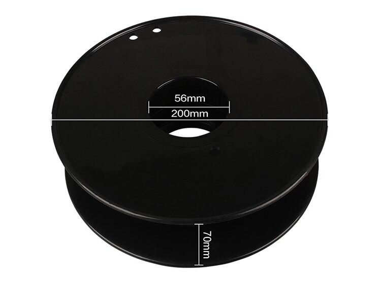dureza do policarbonato do filamento 1kg do