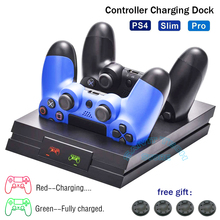 Dock-Station Charger-Stand Gamepad Controller Joystick-Charging PS 4-Accessories Sony