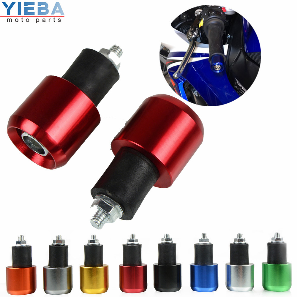 Motorcycle Accessories Handlebar End Handlebar Grips Cap Ends Anti Vibration Silder Plug Parts For Yamaha YZF R6 YZFR6 1999 2013