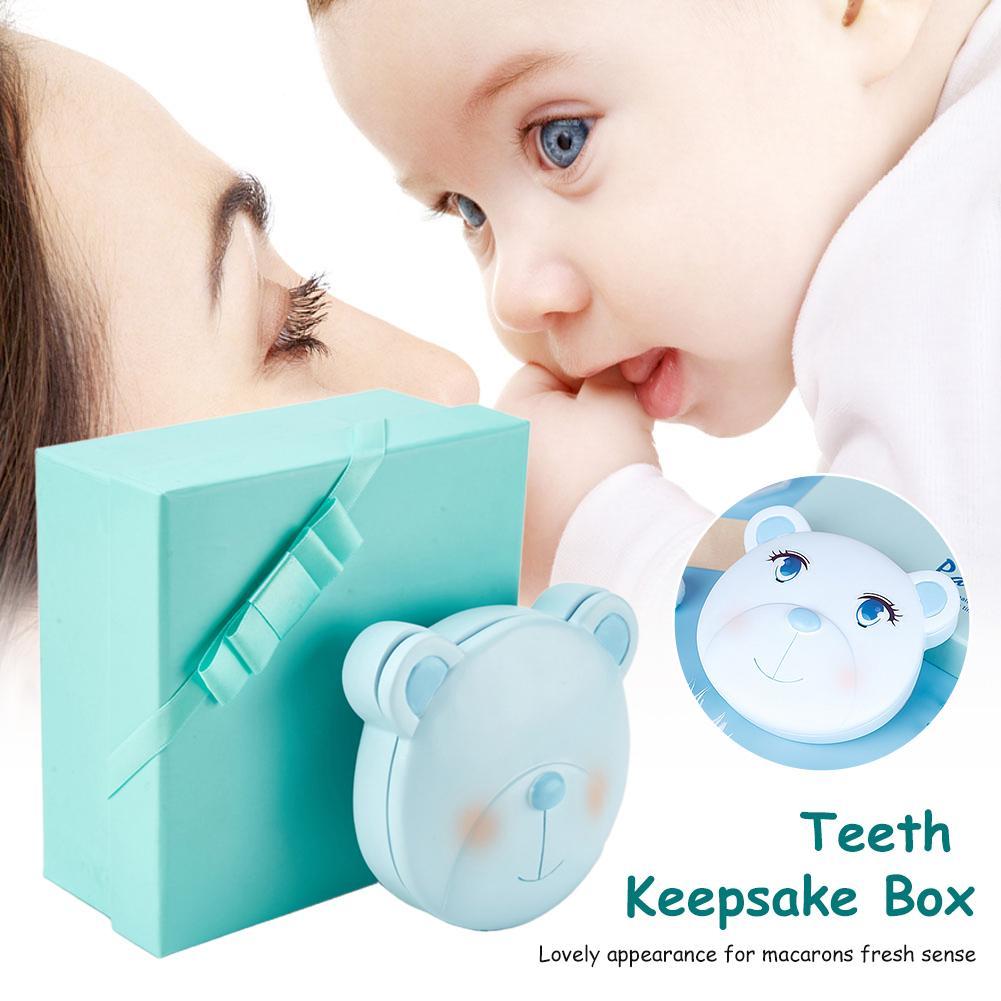 Newest Baby Teeth Keepsake Box Children Kids Tooth Storage Holder Organizer For Keep Kids Memory