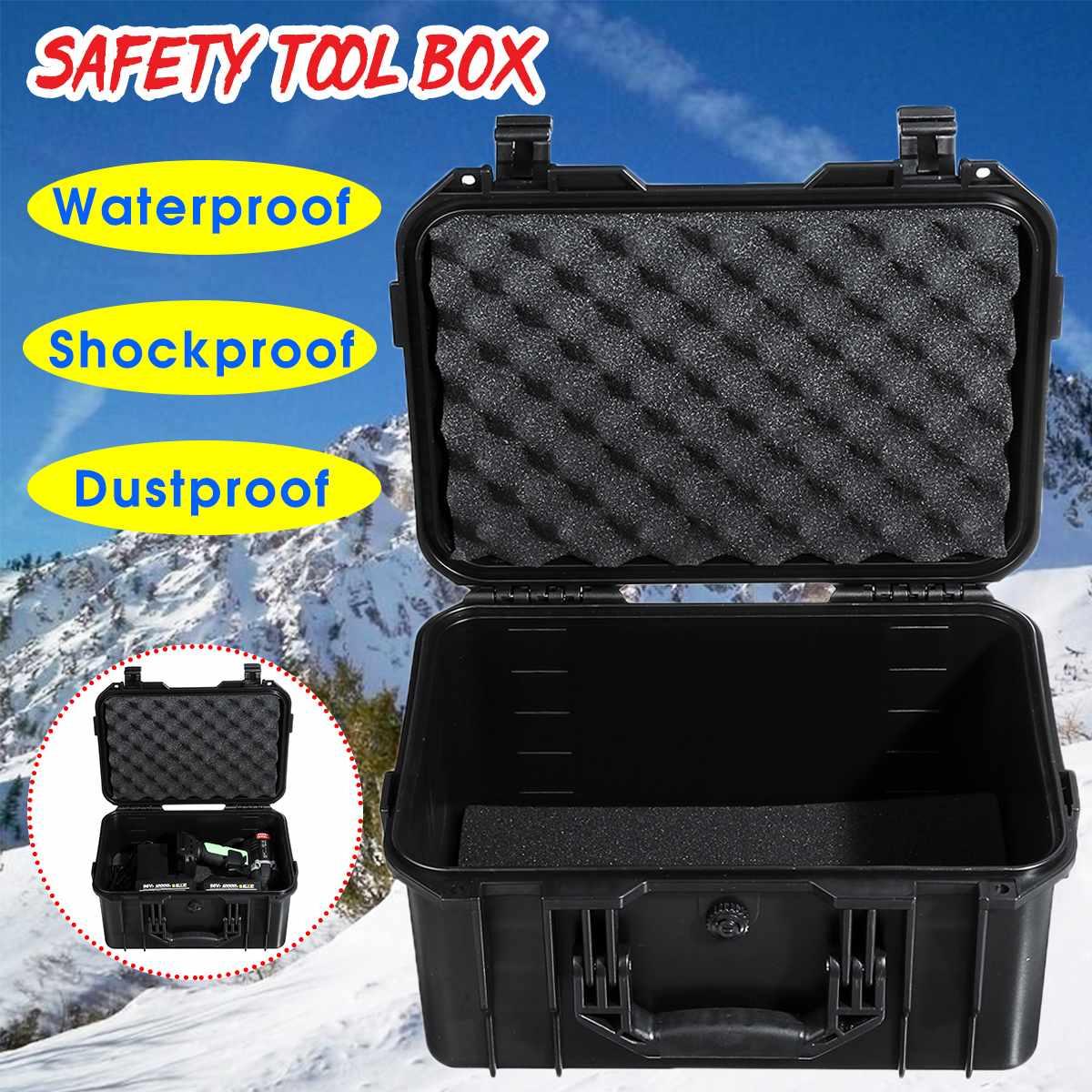 ABS Versiegelt Instrument Werkzeug Box Sicherheit Ausrüstung Toolbox Stoßfest Auswirkungen Beständig Werkzeug Fall Koffer Lagerung Box Mit Schaum