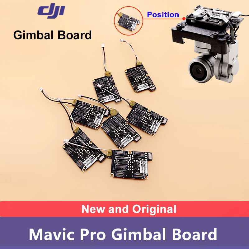100% Original and Brand New DJI Mavic Pro Gimbal Camera Foward Sensor Control Main Board Repair Parts
