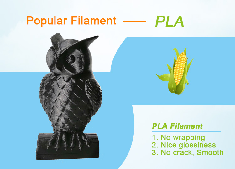 Silk/Marble/Wood/Shining/PLA 3D Pen Filaments to Draw 3D Objects