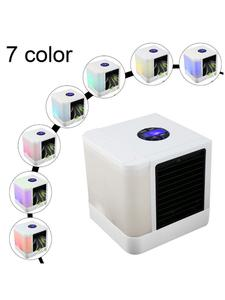 Fans Humidifiers Table-Fan Air-Cooler Office-Refrigerating-Device Mini New USB for 7-Color