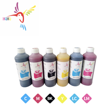6Colors 500ml Pigment ink Bulk ink Use for EPSON Expression Photo XP-8500 Printer pigment ink for Epson xp-8500 winnerjet 500ml bottle 4 colors water based pigment ink for epson b 300dn b 500dn b300dn b500dn printer