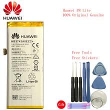 Huawei P8 Lite Replacement Battery High Quality 3.8V 2200mAh Li-Polymer Battery Huawei Ascend P8 Lite HB3742A0EZC+ стоимость