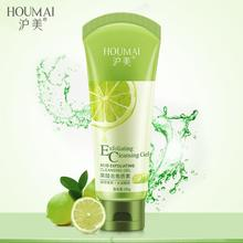 HOUMAI Fruit Acid Exfoliating Facial Scrubs Cream Skin Whitening Aging Keratin Care Dead Remover