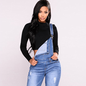 Image 5 - FLEUR WOOD Jeans Bib Female Slimming Denim Jeans For Women Plus Size Stretch Jeans Female Skinny Jeans pantalones vaqueros mujer