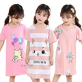 Fashion Children Clothing Summer Girls Dresses Baby Pajamas Cotton Princess Nightdress Girl Sleepwear Kids Unicorn Nightgown