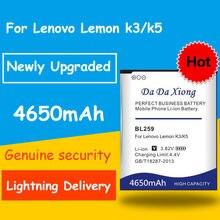 Hohe Kapazität 4650mAh BL259 Batterie für Lenovo K32C30 K32C36 zitrone K3 K5 Vibe K5 / K5 Plus Bateria Akkumulator AKKU