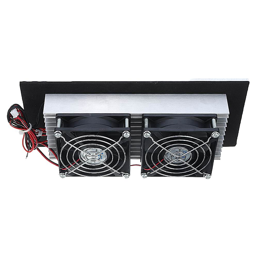 NEW 12V 240W Electronic Semiconductor Refrigeration Small Air Conditioner Micro Cooling System Space Radiator Refrigerator