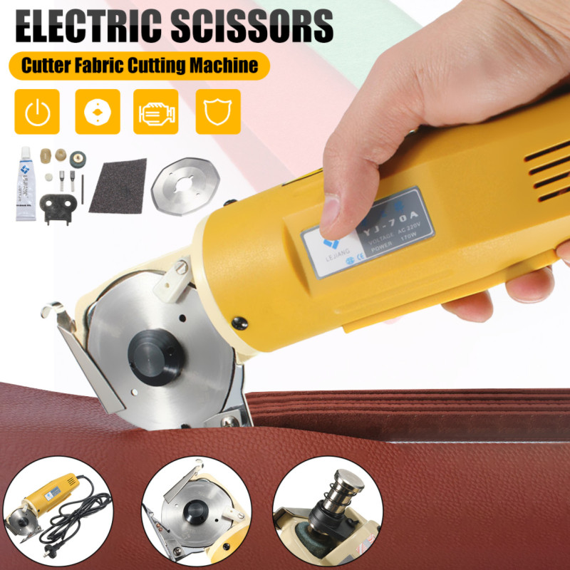 Quality electric fabric scissors cutter electric shears for cloth textile bags