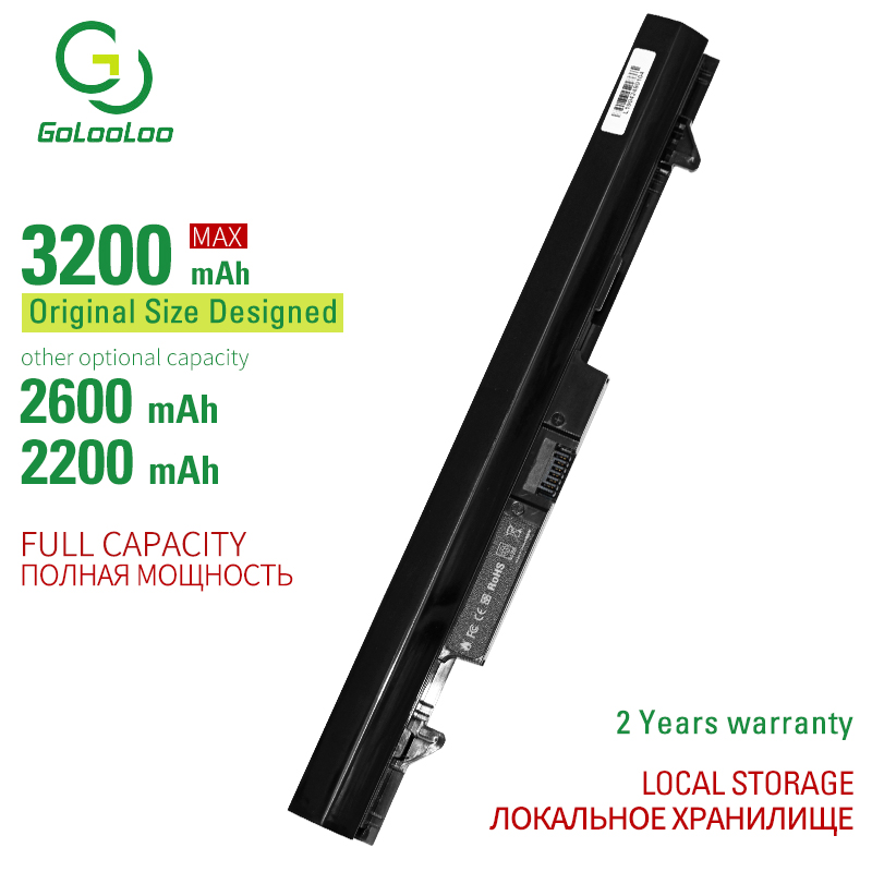 Golooloo 4 Cells RA04 Laptop Battery For Hp Probook 430 G1 G2 HSTNN-C84C HSTNN-IB4L HSTNN-IB5X H6L28ET H6L28AA HSTNN-W01C