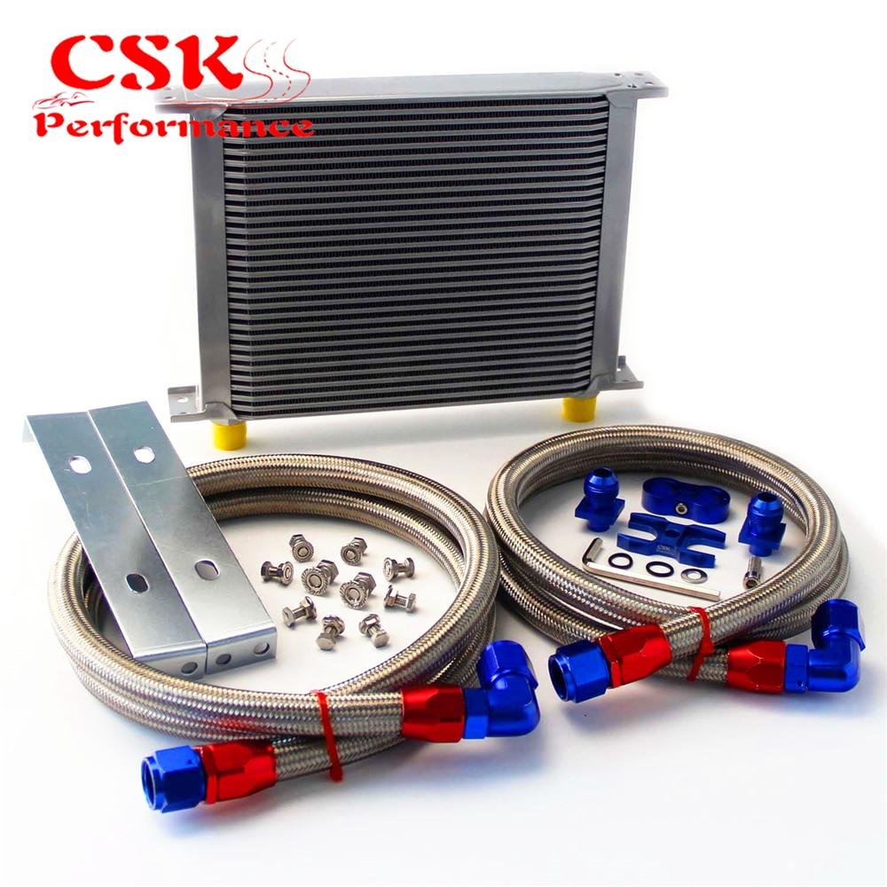 For BMW E36 Euro,E82,E9X 135//335,E46 M3 AN-10 Air Oil Cooler Adapter kit Blue
