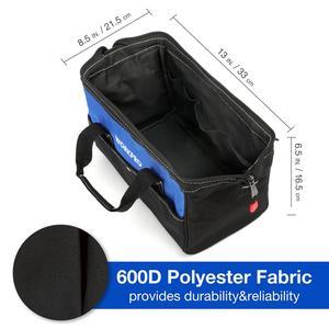 Image 4 - WORKPRO Bolsa de mano para herramientas eléctricas, bolsa de almacenamiento impermeable