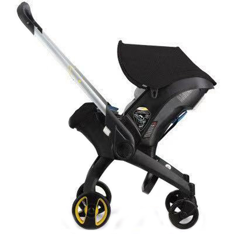 Baby Stroller 4 In 1 With Car Seat Baby Bassinet High Landscope Folding Baby Carriage Prams For Newborns Landscope 4 In 1