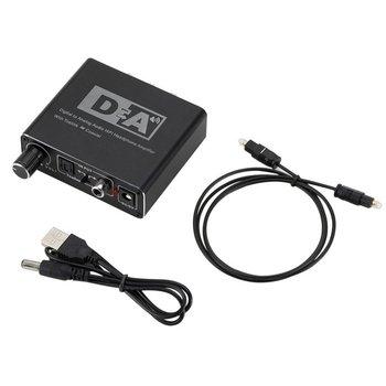 192kHz cyfrowy na analogowy konwerter Audio światłowód Toslink koncentryczny sygnał do RCA R/L dekoder dźwięku SPDIF ATV DAC wzmacniacz