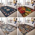 HD Европейский прямоугольные ковры короткой шерстью; нескользящие толстые коврики для дома гостиной спальни детской комнаты декоративный к...