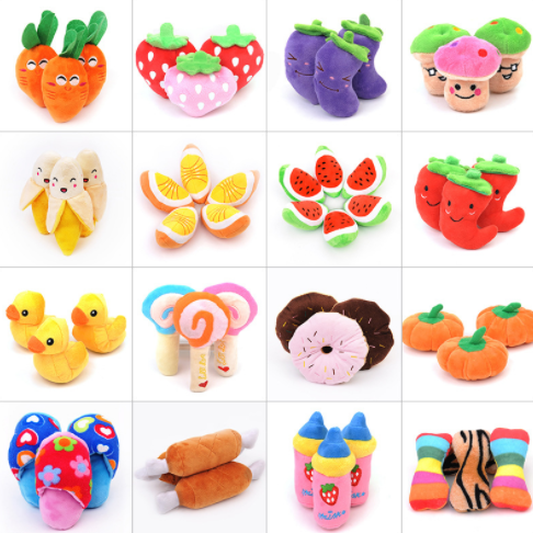 1pcs Kawaii Simulation Fruits Vegetables Stuffed Doll Pumpkin Watermelon Carrot Banana Plush Food Kids Toy 151