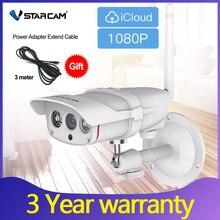 Vstarcam caméra de Surveillance extérieure IP Wifi hd 2mp/1080P (C16S), dispositif de sécurité domestique sans fil, étanche, avec système infrarouge