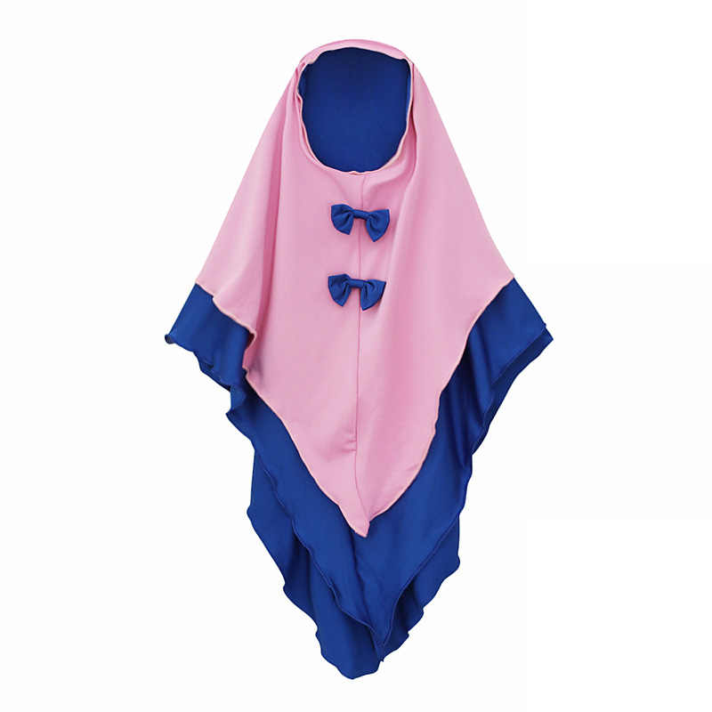 Ayuda Mubarak niñas Abayas para niños bebé Ramadán Eid Abaya Turquía Hijab musulmán vestido caftán de Dubái islámica ropa Vestidos