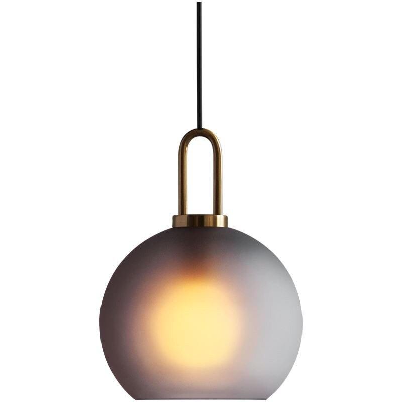 Modern Glass Ball Pendant Light Fixture Kitchen Dining Room Bedroom Hanging Lamp Luminaire Home Decor Lighting