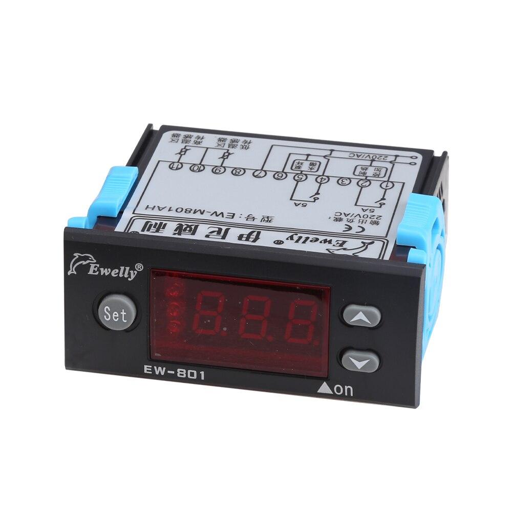 EW 801AH цифровая Солнечная энергия разница температуры Пуск ап контроль температуры Лер, двусторонний выходной контроль солнечный термостат