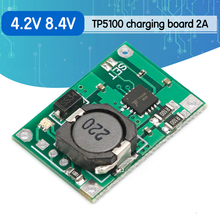 10 adet TP5100 çift tek lityum pil şarj yönetimi uyumlu 2A şarj edilebilir lityum plaka