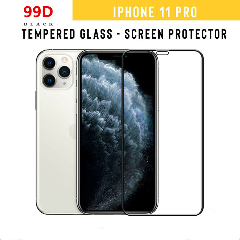99D Full Cover Tempered Glass For IPhone 11 Pro XS MAX XR X Screen Protector Curved  For IPhone X 10 7 8 6 Plus Protective Film