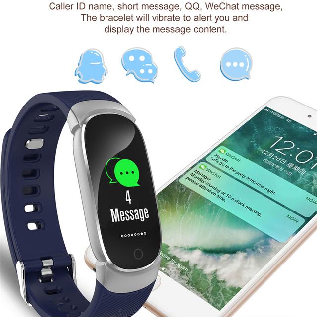 QW16 Women Smart Watch Sport Pedometer Smartwatch Heart Rate Blood Pressure Oxygen Monitor Fitness Tracker Call Alarm Reminder