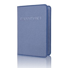 TRASSORY Multifunctional Frosted Business Passport Cover Leather Travel Men Women With Ticket and Card Holder