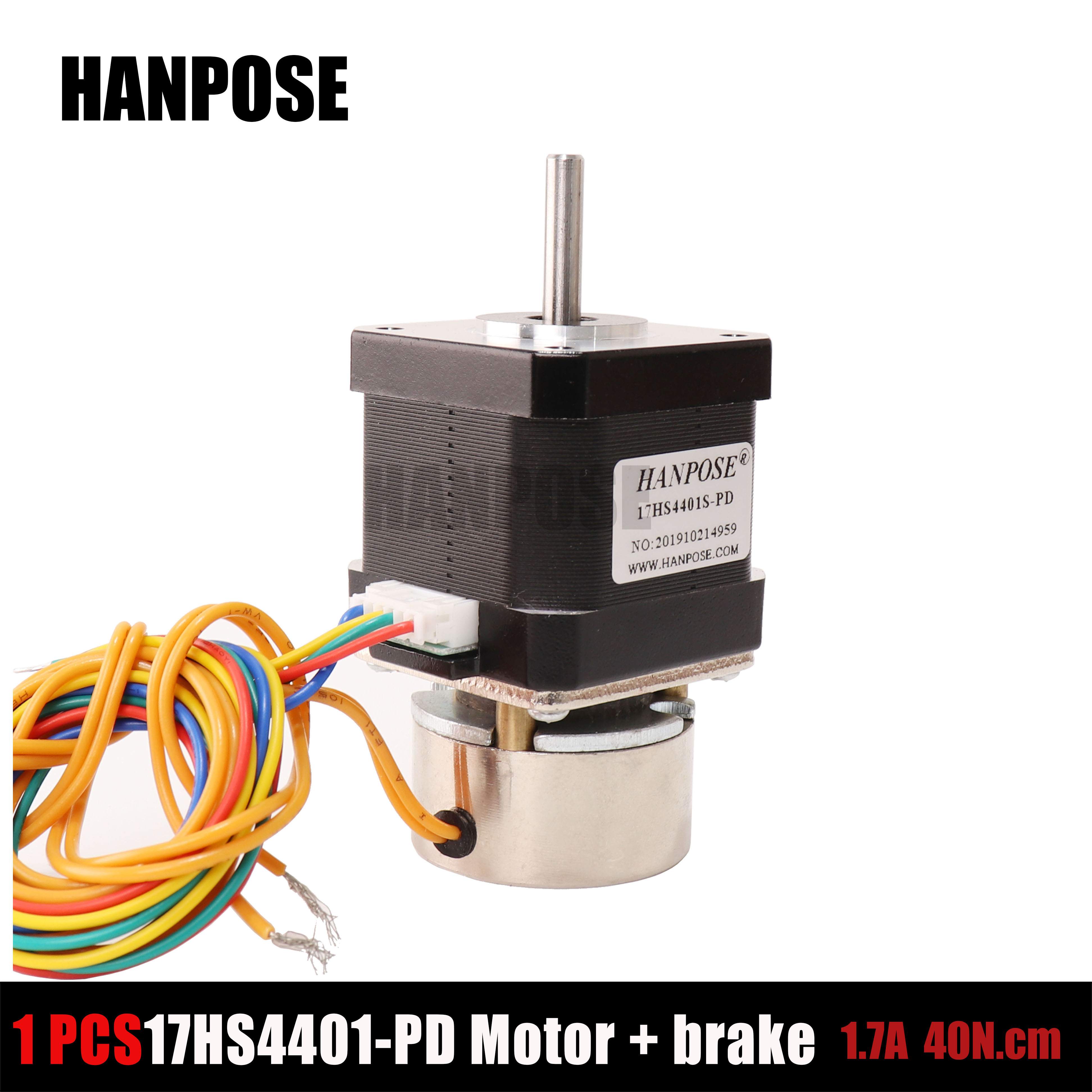 High torque 40n.cm 17hs4401 stepper driver controller two phase stepper motor with brake
