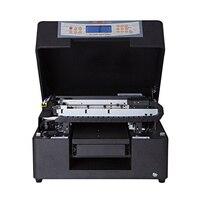 Impressora uv do leito do tamanho a4 com efeito 3d para a impressão da pena da caixa do telefone