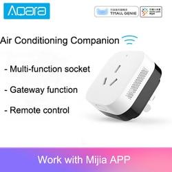 Original Aqara Central Air Conditioning Companion Gateway 3 Verison Infrared Function For Mijia Mi Home APP Aqara Home