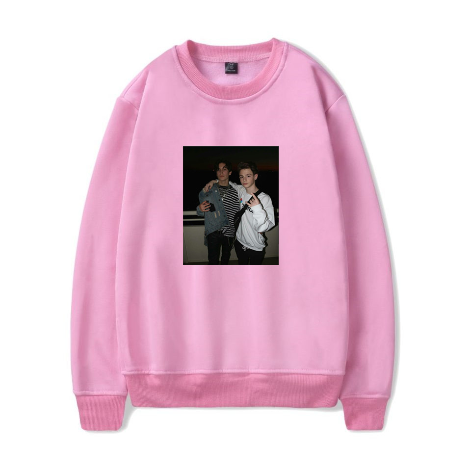 2020 New Internet Celebrity Payton Moormeier LIL HUDDY Chase Hudson Hoodies Harajuku Social Media Stars Hoodie Funny Sweatshirt