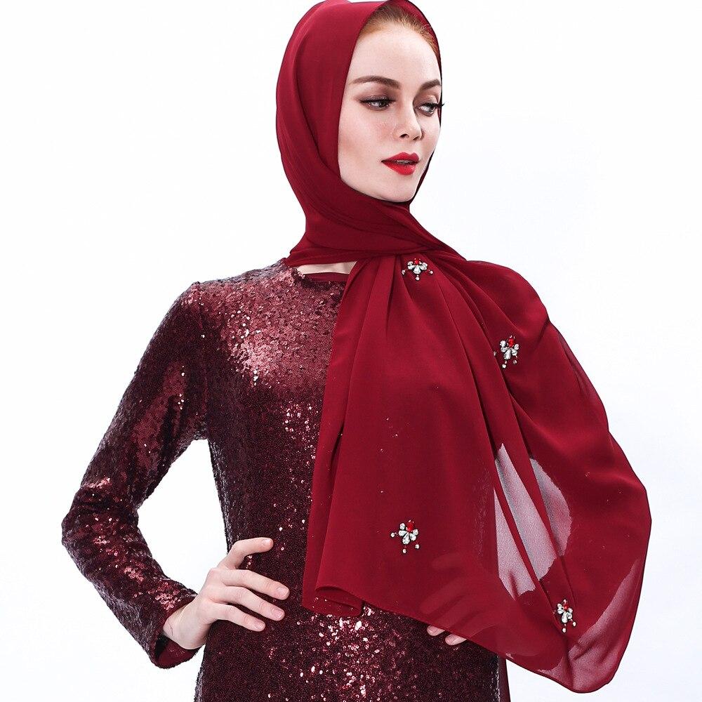 fashion gold yarn glitter scarf hijab for muslim women stretch headscarf for islamic hijab femme musulman malaysia hijabs