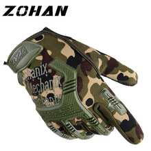 цена на Army Military Tactical Gloves Paintball Airsoft Shooting Combat Anti-Skid Bicycle Hard Knuckle  Shooting  Full Finger Gloves