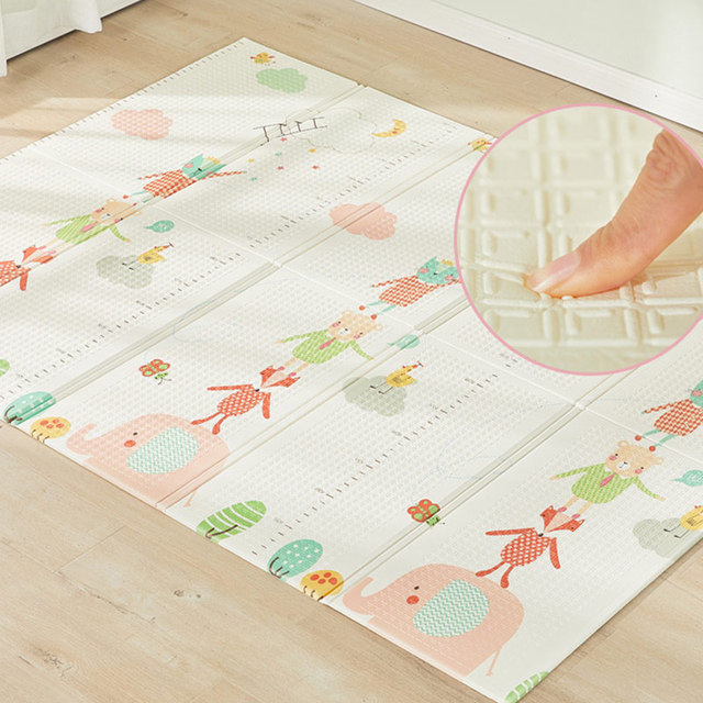 200cm*180cm Kids Rug XPE Baby Play Mat For Children Soft Floor Kids Carpet Living Room Puzzle Developing Crawling Pad Toys