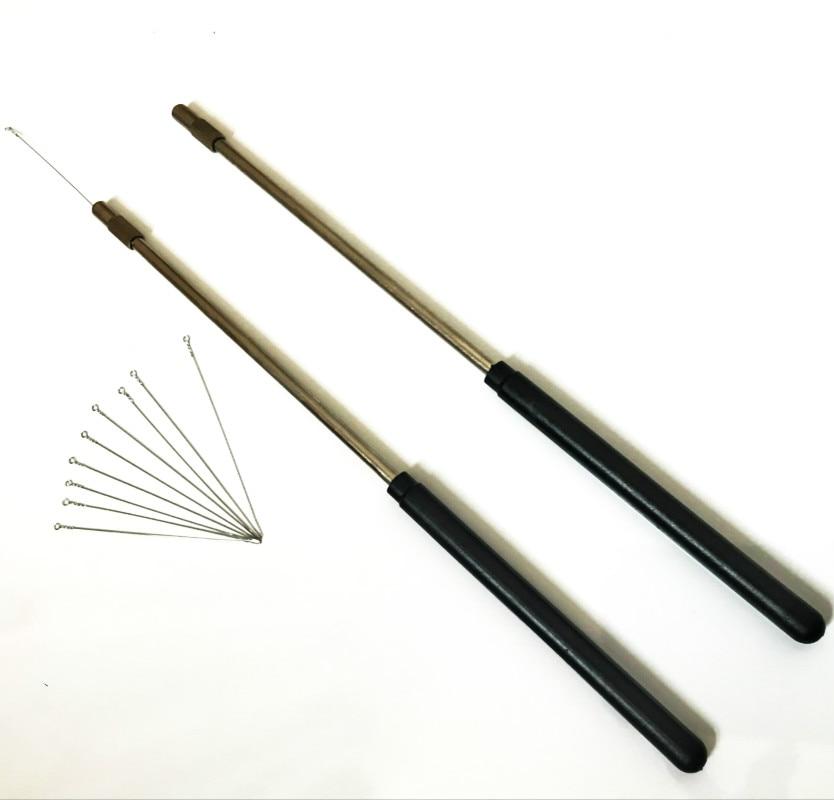 Copper Inoculating Rods Sampling Inoculation Loop For Inoculating Needle Come With Nickel Chromium Inoculating Loop 3mm 10p Pcs