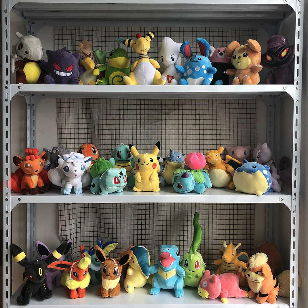 Pikachu Bulbasaur Squirtle Charmander Charizard Blastoise Eevee Lapras Snorlax ตุ๊กตาตุ๊กตาตุ๊กตาของเล่น gitts สำหรับเด็ก