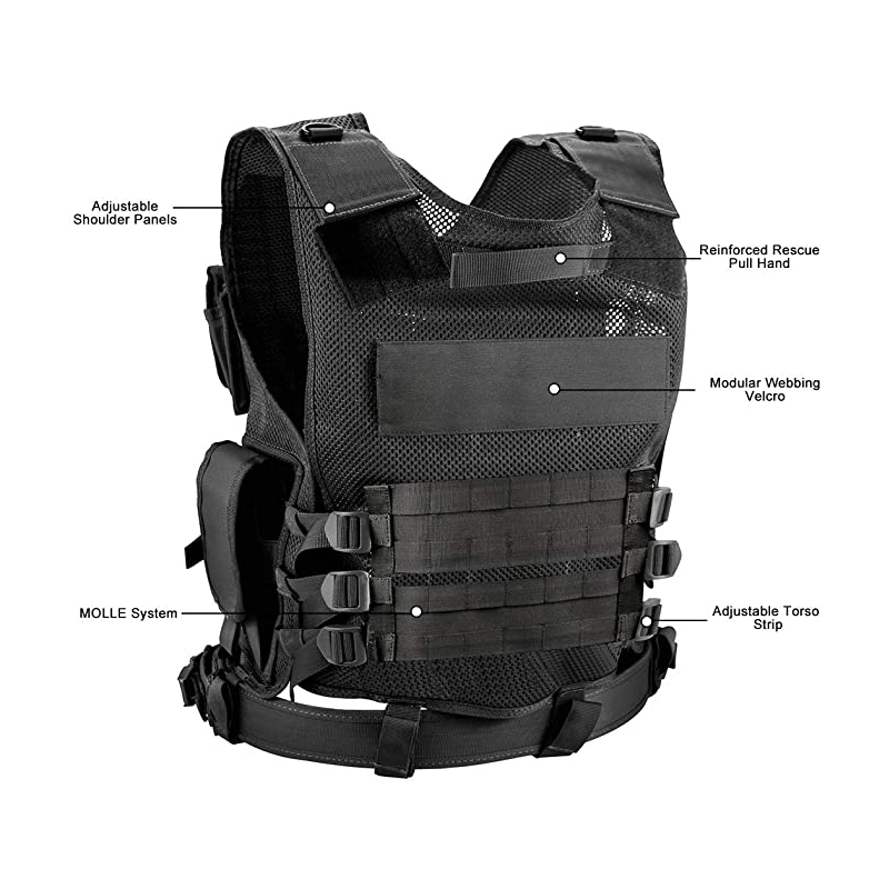 GRIZZLY Security Tactical Vest - Features