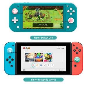 Image 3 - IVYUEEN Analog Thumb Grips for Nitendo Switch Lite NS JoyCon Controller Stick Cap for Nintend Switch Mini Joy Con Joystick Cover