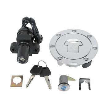 цена на Motorcycle Fuel Cap & Ignition Switch Lock KEY SET For HONDA VFR400 NC30 RVF400 NC35 CBR250