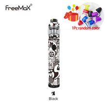 Oryginalny Freemax Twister 80W zestaw startowy 2300mah baterii parownik Vape długopis z Fireluke 2 zbiornik o pojemności 5ml E papierosy zestaw tanie tanio Z Baterią Cylindrical Shape None Metal 2300 mAh Freemax Twister 80W Starter Kit Wbudowany 24 7 x 101 6mm 24mm x 47 8mm