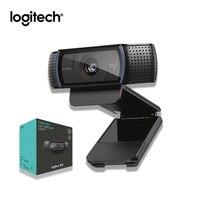 Original Logitech Full HD C920 Pro 1080P Webcam Autofocus Camera Widescreen Video Calling and Recording For Desktop or Laptop