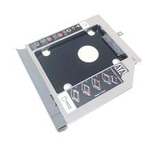 """Lünette Vordere Abdeckung Frontplatte + Halterung 2nd SATA 3,0 2,5 """"Festplatte HDD SSD Optische Caddy für Lenovo ideapad 320 330 520"""
